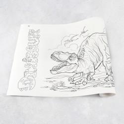Zeichnungen auf Rolle Dinosaurier 1