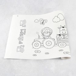 Zeichnungen auf Roll Bauernhof