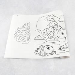 Zeichnungen auf Rolle Mädchen