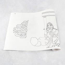 Zeichnungen auf Rolle Mädchen 2