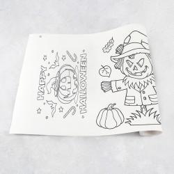 Zeichnungen auf Rolle Halloween