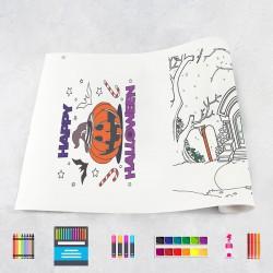 Zeichnungen auf Rolle Halloween 1