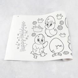 Zeichnungen auf Rolle Feiertagen