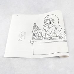 Zeichnungen auf Rolle Magie