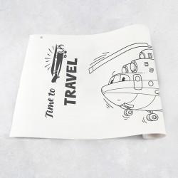 Zeichnungen auf Rolle Flugzeugen