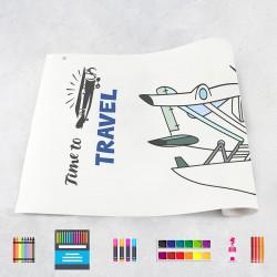 Zeichnungen auf Rolle Flugzeugen 2