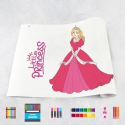 Zeichnungen auf Rolle Prinzessinnen