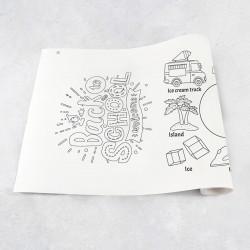 Zeichnungen auf Rolle Alphabet I – Q