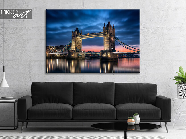 Foto auf Leinwand Tower Bridge In London