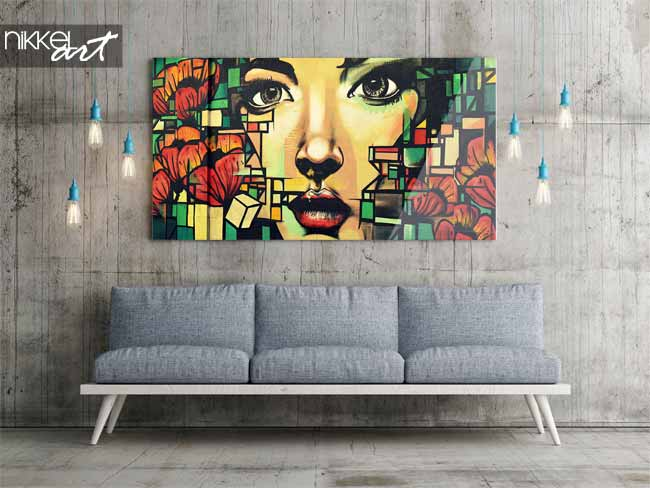 street style zu hause druck ein foto auf acrylglas graffiti. Black Bedroom Furniture Sets. Home Design Ideas