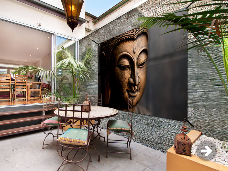 Gartenposter Buddha