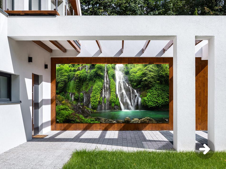 Gartenposter Wasserfälle