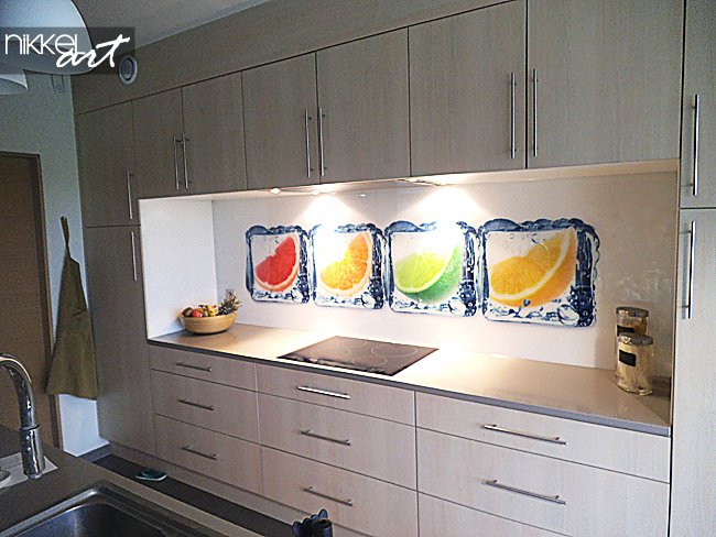 küchenrückwand - Küchenrückwand Alu Dibond
