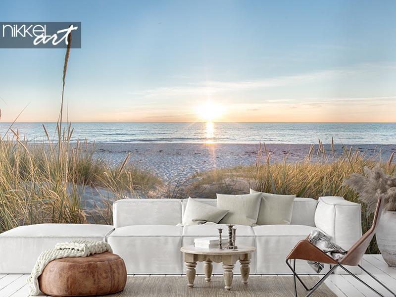 Das ultimative Urlaubsgefühl: Strand-Fototapete