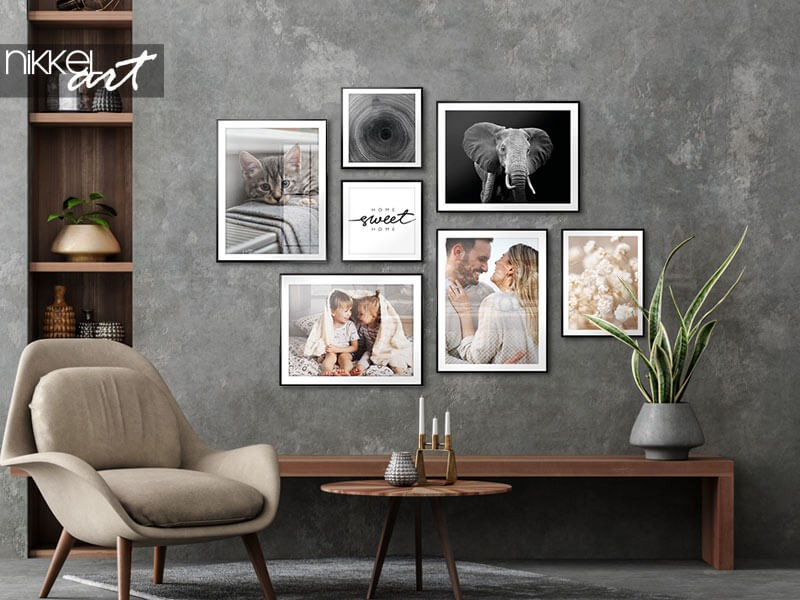 VIDEO: So erstellen Sie die perfekte Galeriewand