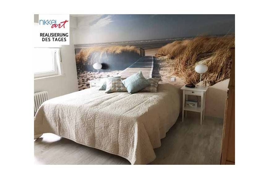 Fototapete Strand für Schlafzimmer