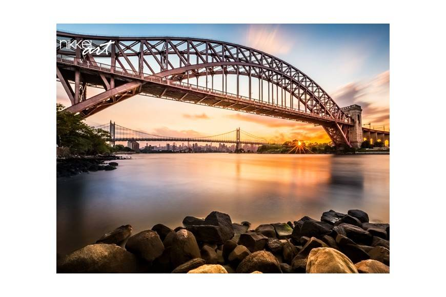 Hell Gate und Triboro bridge