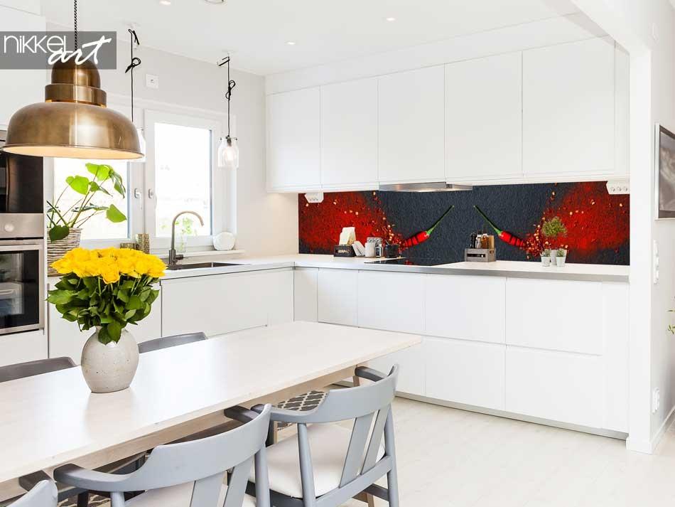 Küchenrückwand glas motiv mit Foto Gewürze