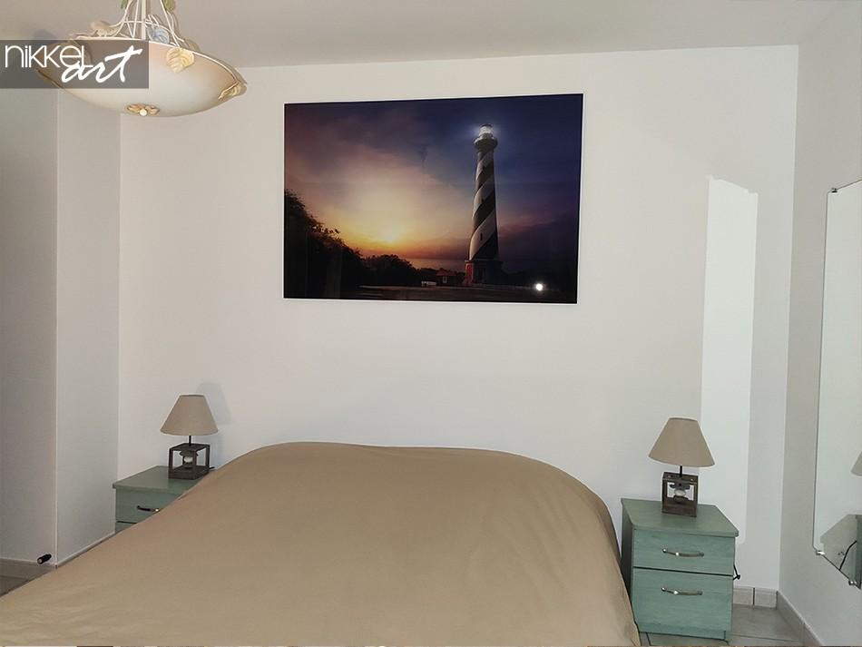 Gemälde auf Acrylglas Leuchtturm