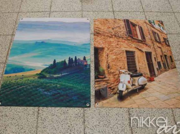 Foto auf Gartenposter Toskana