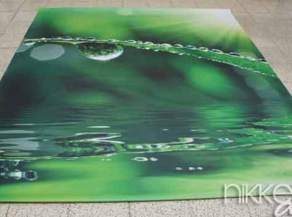 Foto auf Gartenposter Wassertropfen
