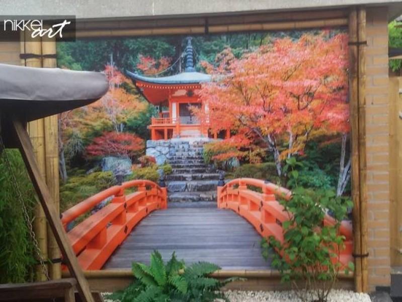 Foto auf Gartenposter Kyoto