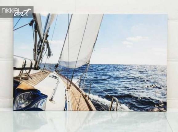Foto auf Leinwand Segelboot