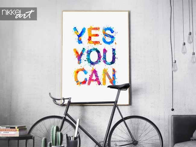 Poster Yes, you can
