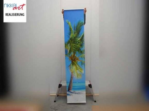 Rollo bedruckt Tropical strand