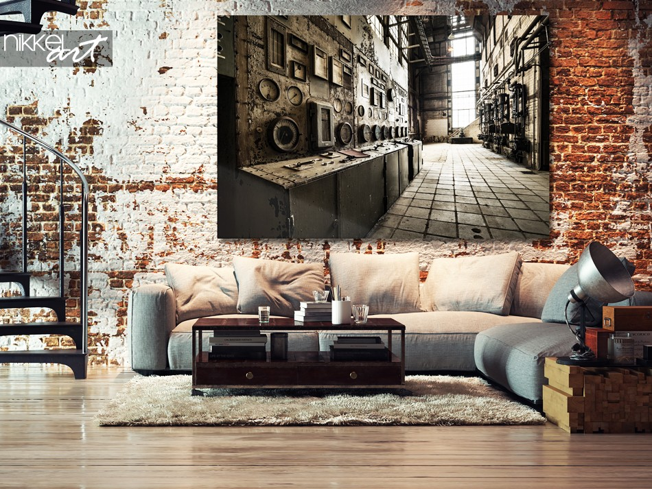 Foto auf Acrylglas Alte verlassene Gebäude