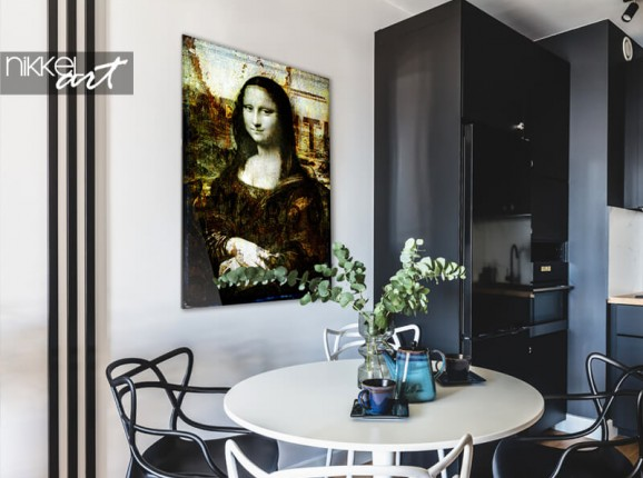 Foto auf Acrylglas Alain Delvoye – Mona