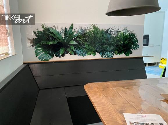 Foto auf Acrylglas von tropischen Blättern