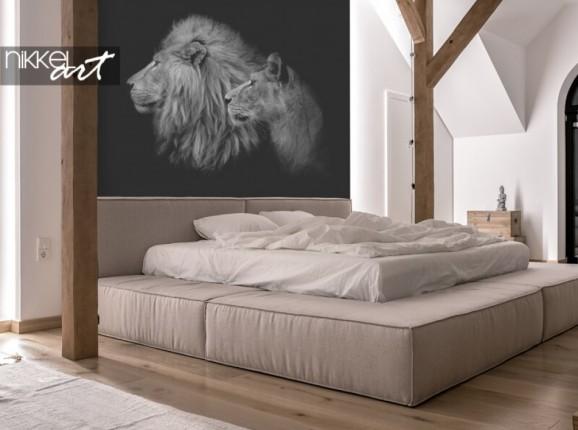 Fototapete mit Löwen