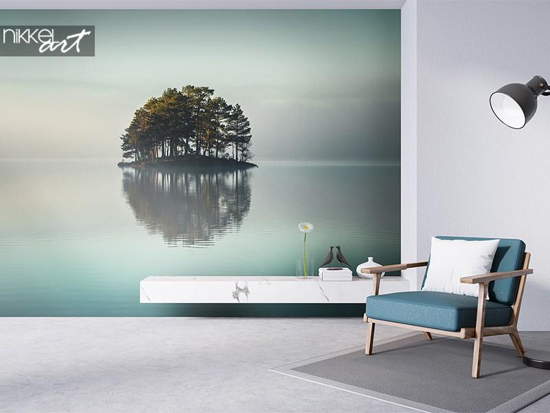 Wandbild endloser See
