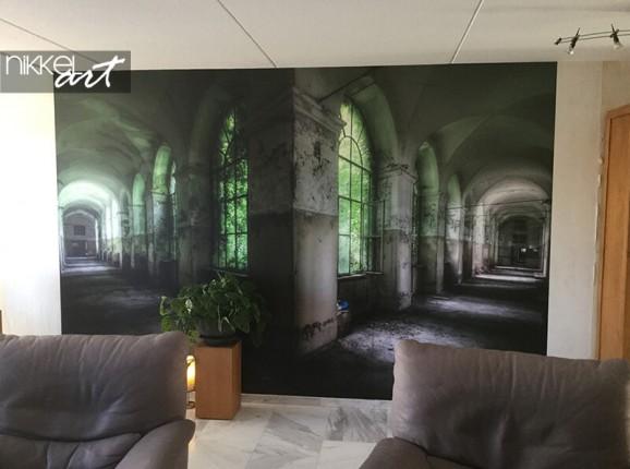 Fototapete vom Sanatorium Beelitz