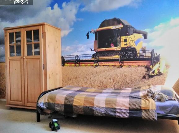 Fototapete von einem Traktor