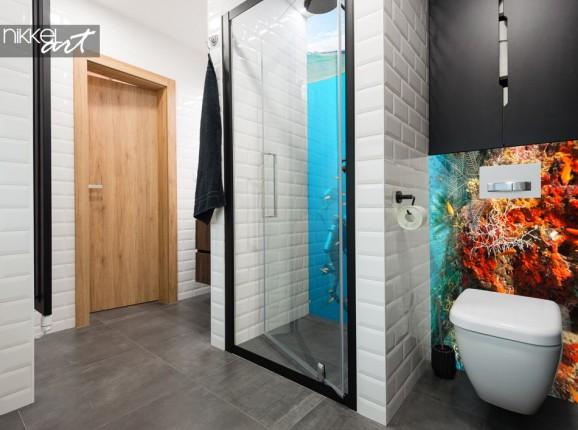 Glas Badezimmer Rückwand Unterwasser