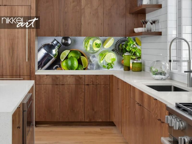 Küchenrückwand aus Glas Mojito