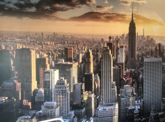 Fototapete Skyline New York City
