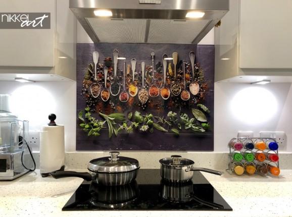 Kundenfoto Küchenrückwand Gewürze