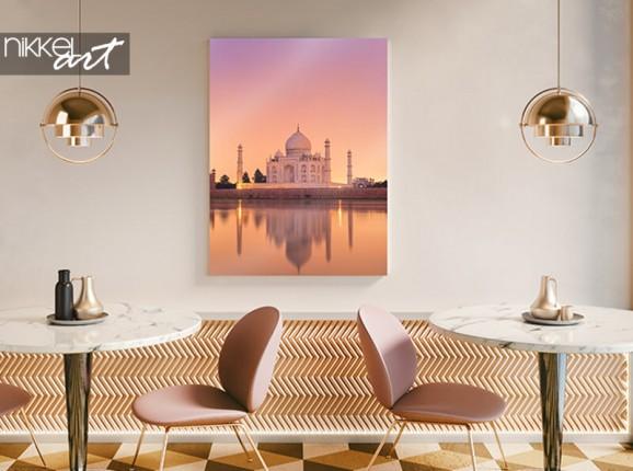Taj Mahal auf Aluminium
