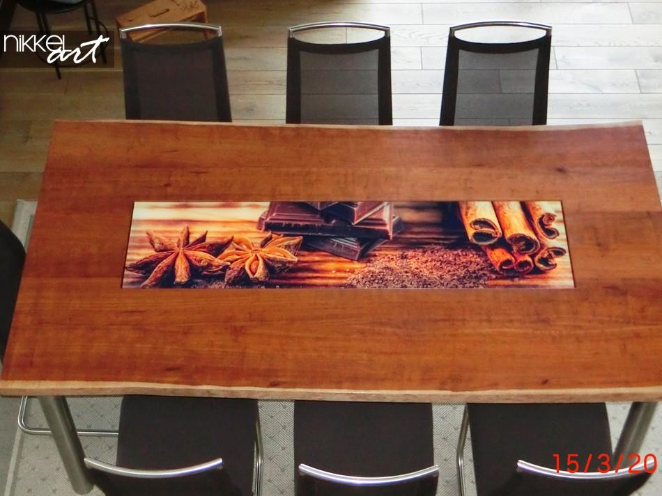 Plexiglas Tischplatte