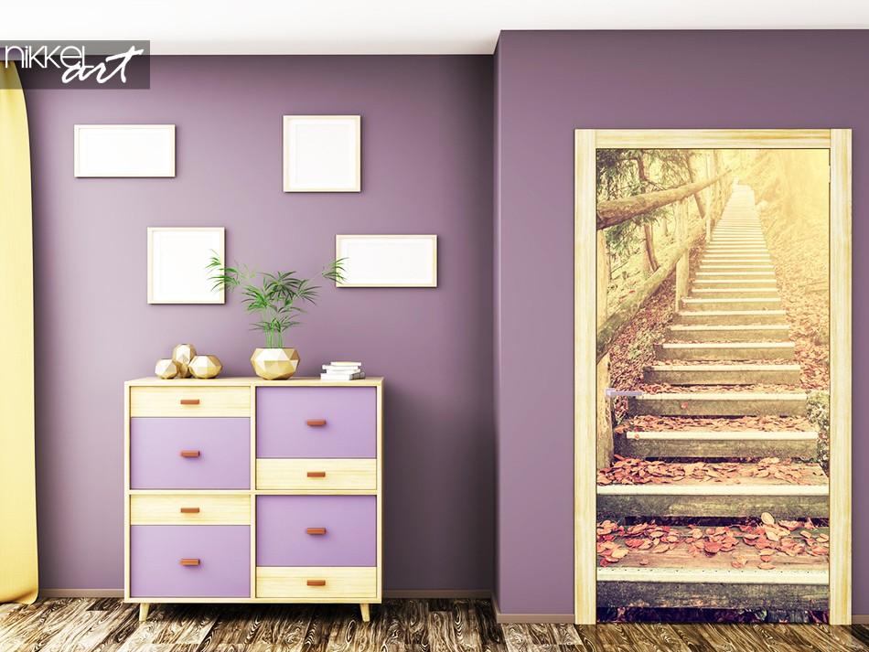 Türaufkleber Treppe