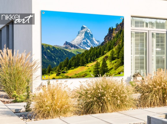 Gartenposter Matterhorn Berg