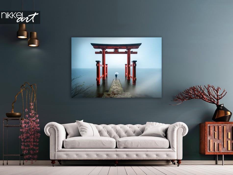 Foto Hakone Schrein Japan auf Acrylglas