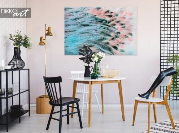Sitzbereich mit Photo Feather Texture