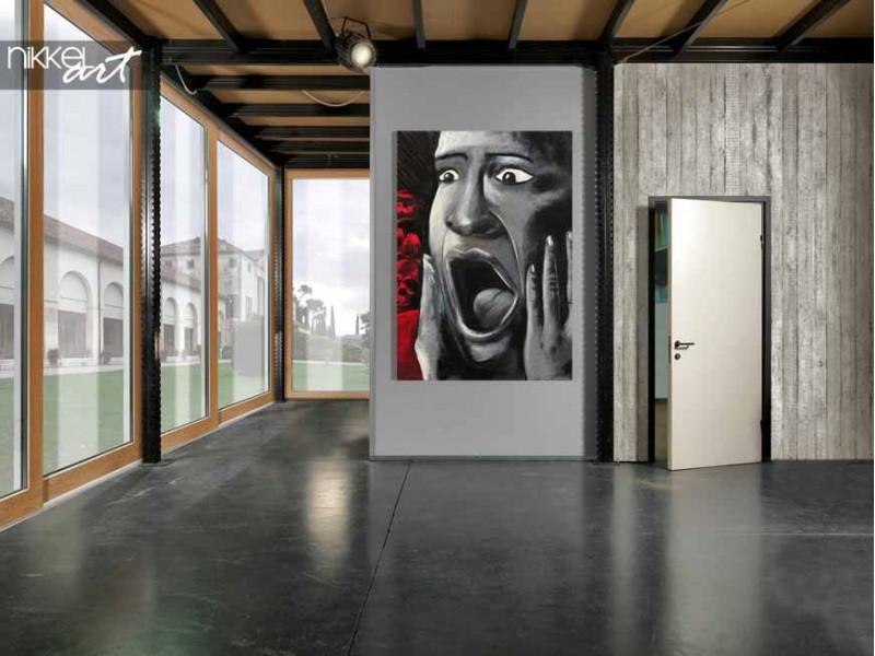 street style zu hause druck ein foto auf acrylglas graffiti. Black Bedroom Furniture Sets. Home Design Ideas
