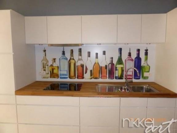 foto k chenr ckwand alkohol. Black Bedroom Furniture Sets. Home Design Ideas
