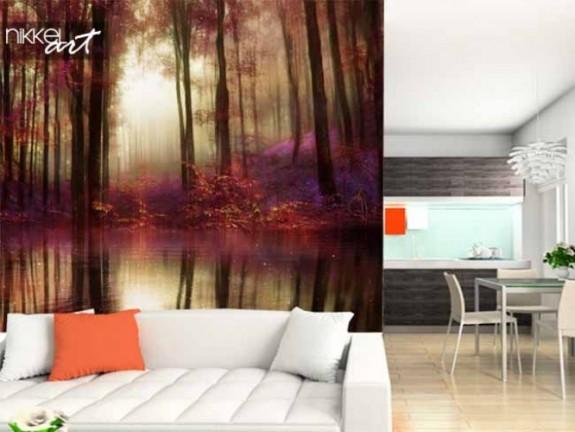 fototapeten wald. Black Bedroom Furniture Sets. Home Design Ideas