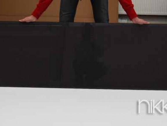 kuchenruckwand aus glas mit foto. Black Bedroom Furniture Sets. Home Design Ideas